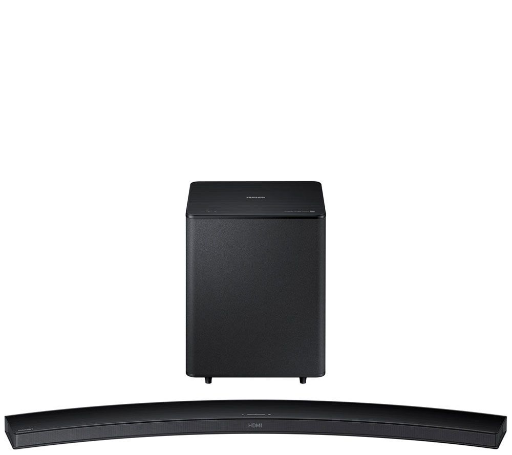 Samsung curved bluetooth sound bar with subwoofer for Samsung sound bar