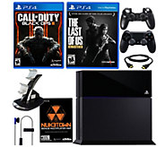 Sony PS4 500GB Black Ops III Bundle with The Last of Us - E289548