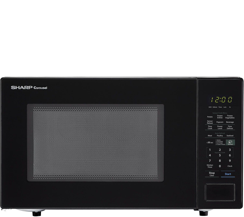 Sharp Carousel 1 4 Cu Ft 1000w Countertop Microwave Oven E291648