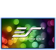 Elite Screens 100 Aeon CLR Fixed-Frame Projection Screen - E293548
