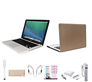 Apple Macbook Pro 13, Corei5 Clip Case, Earbuds & USB LED Light - E230349
