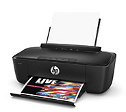 HP AMP 100 Wireless Printer with Bluetooth Speakers & More - E231949