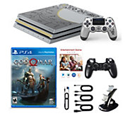 Sony PS4 Pro 1TB Limited Edition God of War, Voucher & Dual Charger - E232049