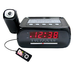 digital clock radio projection usa. Black Bedroom Furniture Sets. Home Design Ideas