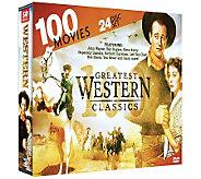 100 Greatest Western Classics - 24 Disc DVD Set - E264249