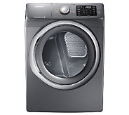 Samsung 7.5 Cu. Ft. Front Load Electric Dryer -Platinum - E277349