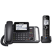 Panasonic Two-Line Telephone System with One Handset - E283349