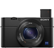 Sony Cyber-shot DSC-RX100 IV 20MP Digital Camera w/ 4K Movie - E288349
