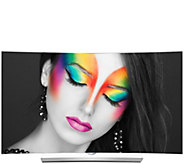 LG 65 Class 4K UHD Smart Curved OLED TV with webOS 2.0 & 3D - E288849