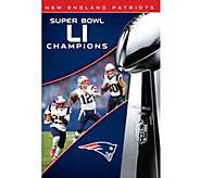 New England Patriots NFL Super Bowl 51Champions DVD - E290549