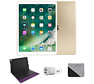 Apple iPad Pro 12.9 64GB Wi-Fi with BluetoothKeyboard - Gold - E293749