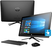 HP 22 Touch All-in-One PC AMD Quad Core 8GB RAM 1TB HDD Lifetime Tech - E230850