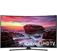 Samsung 55 Curved 4K Ultra HD Smart TV with 2 Year Warranty - E231050