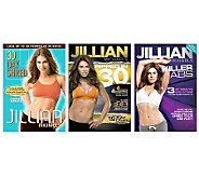 Jillian Michaels - 3 Disc Fitness Bundle - E263150