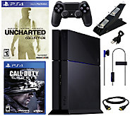 PS4 500GB Uncharted Collection Bundle with Callof Duty - E285250