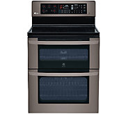 LG 6.7 Cubic Foot Freestanding Electric DoubleOven w/ Broiler - E285850