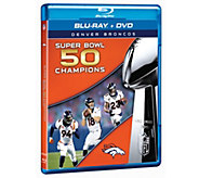 Sh. 3/8 Denver Broncos Super Bowl 50 ChampionsBlu-Ray - E287550