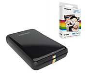 Polaroid Zip Mobile Printer with 60 Sheets ofPhoto Paper - E289950