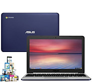 ASUS 11.6 Chromebook - Quad-Core 4GB RAM, 16GBeMMc & Softwar - E290050