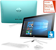 HP 22 Touch All-in-One PC 8GBRAM 1TB HD w/ Software & MS Office 365 - E230851
