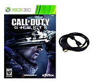 Call of Duty: Ghosts with HDMI Cable - Xbox 360 - E272851