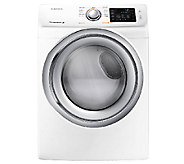 Samsung 7.5 Cu. Ft. Front Load Electric Dryer -White - E277351