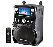 Karaoke USA Professional Karaoke System w/ 7 TFT Color Screen - E284351