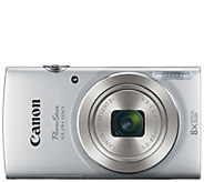 Canon PowerShot ELPH 180 20 Megapixel Digital Camera - E288451