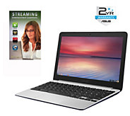 ASUS 11.6 Chromebook - Quad Core 4GB RAM 16GB w/ 2-Yr LMW - E289251