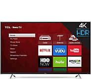 TCL 55 Class LED 4K Smart Ultra HDTV with RokuInterface - E291351