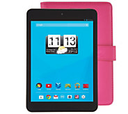 Trio 8 Wi-Fi Quad Core Tablet with Pink Case & Software - E229352