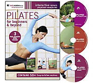 Pilates For Beginners & Beyond - 3 Disc Box Set - E263152