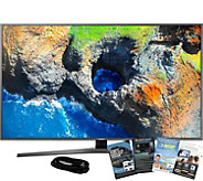 Samsung 40 4K HDR Smart Ultra HDTV with HDMI and App Pack - E291252