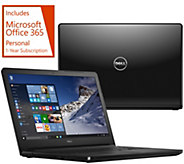 Dell 15 Laptop AMD Quad Core 8GB RAM 1TB HDD w/ Carry Case, & MS Office 365 - E230953