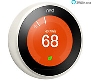 Nest Learning Thermostat 3rd Gen w/ Eco Mode Remote Control, Auto Scheduling - E231553