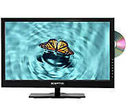 Sceptre 23 Diag. Full HD LED TV w/Built-In DVD, 3 HDMI Ports - E260553