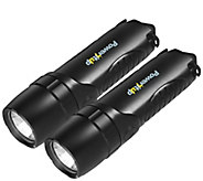 Impecca Set of Two 4-in-1 Flashlights w/ 5,200mAH Power Bank - E286453