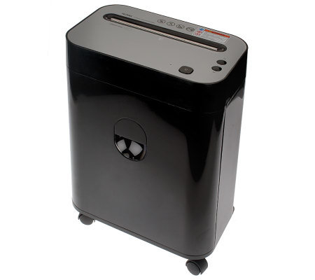 Royal 10 Sheet Cross Cut Paper Shredder w/ Pullout Basket