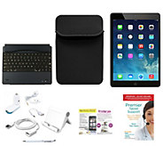 Apple iPad Air 16GB WiFi with BT Keyboard, Neoprene Case, & Accessories - E229554