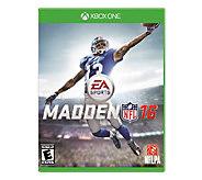Madden NFL 16 - Xbox One - E283654