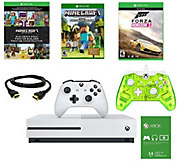 Xbox One S 500GB Minecraft Bundle w/ ExtraController - E290354