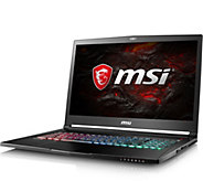 MSI 17.3 Gaming Laptop - i7, 16GB RAM, 256GB SSD, 2TB HDD - E291654