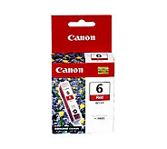Canon BCI6R Ink Tank - Red - E139955