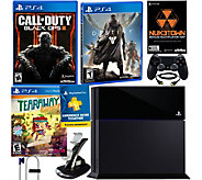 PlayStation 4 500GB Black Ops 3 Bundle with Destiny & Tearaway - E229355