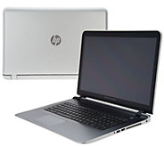 HP 17 Touch Laptop A10 8GB RAM 1TB HDq w/Life TimeTech & MS Office365 - E229855