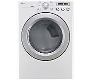 LG 7.3 Cu. Ft. Ultra-Large-Capacity Electric Dryer with Senso - E279555