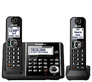 Panasonic Cordless Answering System with Two Handsets - E283355