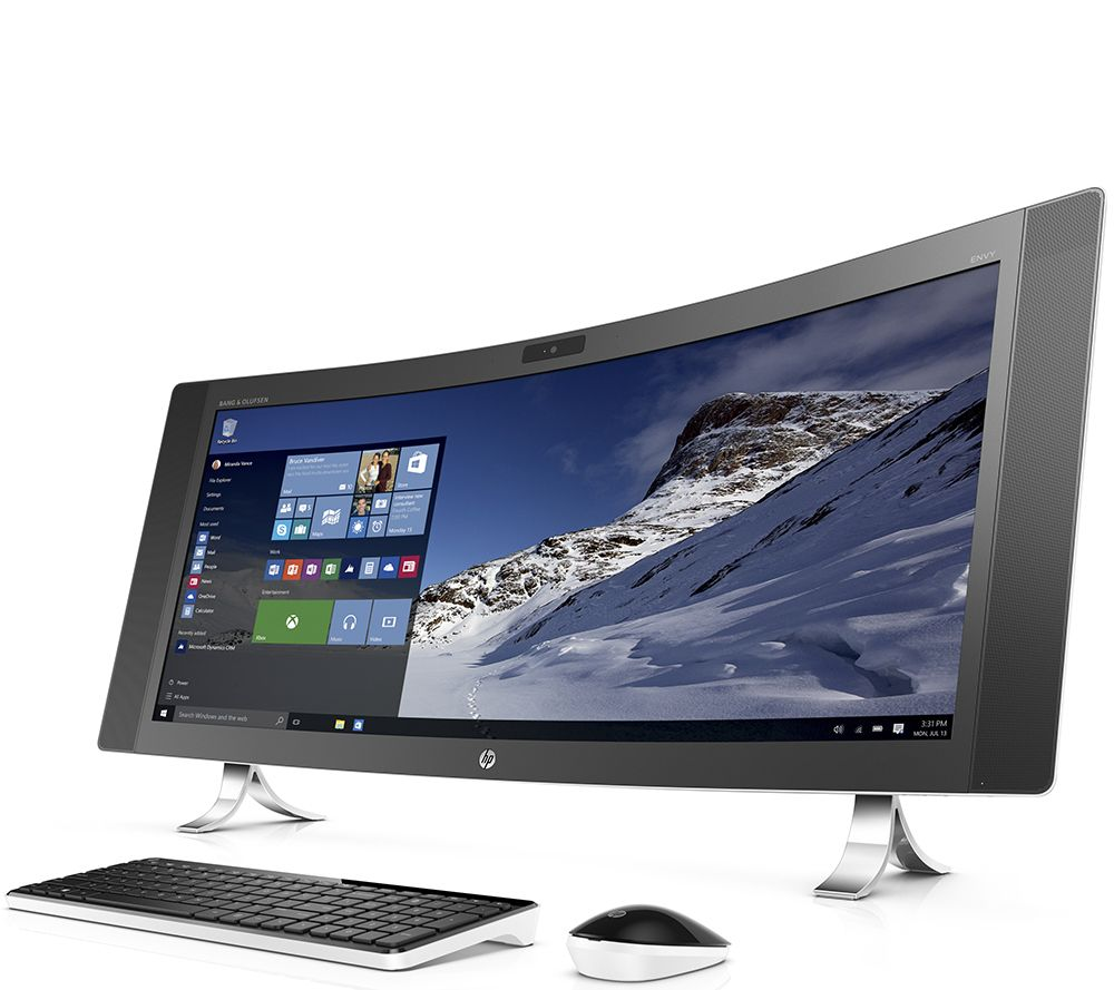 hp 34 curved envy all in one core i5 12gb ram 1tb hdd. Black Bedroom Furniture Sets. Home Design Ideas
