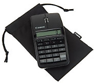 Canon Bluetooth Slim Mouse and Calculator with Numeric Keypad and Carry Case - E222556