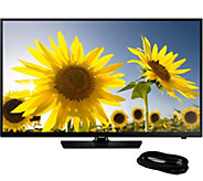 Samsung 40 Class LED 1080p HDTV with HDMICable - E290256